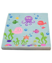 Quirky Monkey Under the Sea Tissue Paper Multicolor - Set of 20