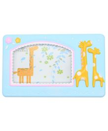 Quirky Monkey Photo Frame Giraffe Theme - Blue
