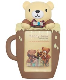 Quirky Monkey Photo Frame Bear Theme - Cream