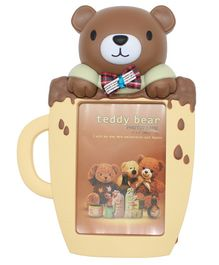 Quirky Monkey Photo Frame Bear Theme - Brown