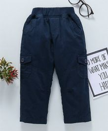 Jash Kids Full Length Cargo Style Trouser - Navy Blue