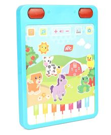 ABC Tablet With Lights & Music - Blue