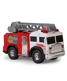 Dickie Fire Rescue Toy Truck - Red & White