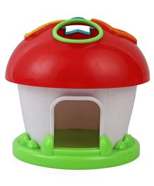 ABC Shape Sorting Mushrooms - Red & Green