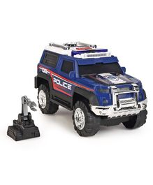 Dickie Police SUV Toy Car With Sound & Lights - Blue
