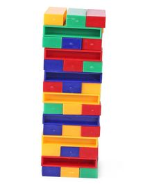 Simba - G&M Travel Game Tumbling Tower Multi Color - 45 Pieces