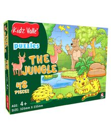 Kidz Valle The Jungle Green -  48 Pieces
