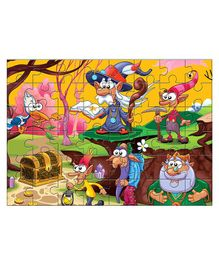 Kidz Valle Treasure Hunting Jigsaw Puzzle Multicolor - 48 Pieces