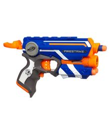 Nerf Elite Firestrike Blaster - Orange & Blue