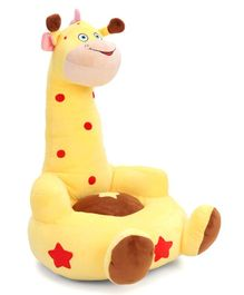Benny & Bunny Giraffe Sofa Seat - Yellow & Red
