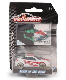Majorette Limited Edition Honda CR-Z Toy Car - White