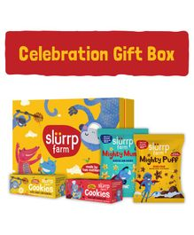 Slurrp Farm Mini Celebration Box - Yellow