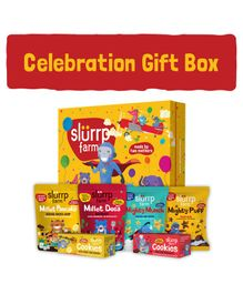 Slurrp Farm Jumbo Celebration Box - Yellow