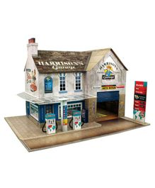 The CityBuilder Garage & Shop Model Making Kit - Multicolor