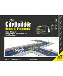 The CityBuilder Road & Pavements Kit - Multicolor