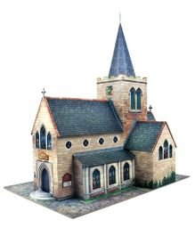 The CityBuilder Church Model Making Kit - Multicolor