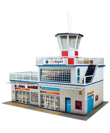 The CityBuilder Airport Model Making Kit - Multicolor