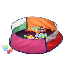 IToys Ball Pool Multi Colour - 64 Balls