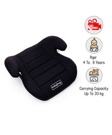 Babyhug High Raise Car Booster Seat - Black