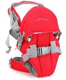 1st Step 6 In 1 Baby Carrier With Superior Lumbar Support And Multiple Safety Belts- Red