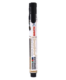 Kores Smoothline Whiteboard Marker Black - 14 cm