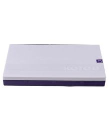 Kores Feather Touch Stamp Pad - Purple & White