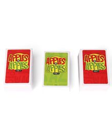 Mattel Apples To Apples Card Games - Red & Green