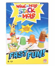 Mattel Fast Fun Whack-A-Mole - Multicolor