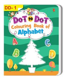 Dot To Dot Alphabet Colouring Book - English