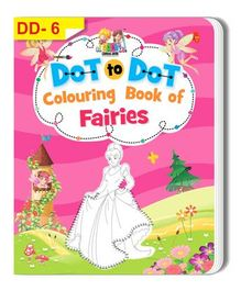 Dot To Dot Colouring Book of Fairies - English
