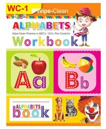 Wipe & Clean Alphabet Workbook - English