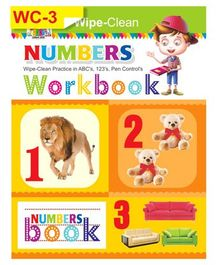 Wipe & Clean Numbers Workbook - English