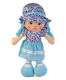 Karma Floral Dress Candy Doll Blue - Height 50 cm