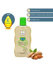 Bebe Nature Natural Baby Massage Oil With Sweet Almond Oil & Natural Vitamin E - 120 ml