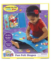 Faber Castell My First Fun Felt Shapes - Multicolour