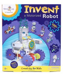 Faber Castell Invent Motorized Robot Activity Kit Multicolour - 100 pieces