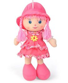 Karma Floral Dress Candy Doll Pink - Height 35.5 cm
