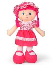Karma Floral Dress Candy Doll Pink - Height 60 cm