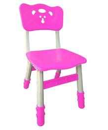 Sunbaby Magic Chair With Height Adjustment Bear Design - Pink