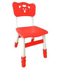 Sunbaby Magic Chair With Height Adjustment Bear Design - Red
