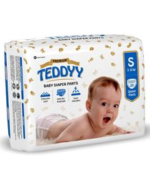 Teddyy Baby Premium Pant Style Diapers Small - 20 Pieces