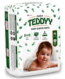 Teddyy Baby Easy Pant Style Diapers Medium - 10 Pieces
