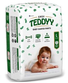 Teddyy Baby Easy Pant Style Diapers Large - 10 Pieces