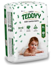 Teddyy Baby Easy Pant Style Diapers Extra Large - 10 Pieces