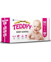 Teddyy Baby Premium Diapers Extra Small - 21 Pieces