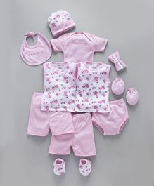 Montaly Clothing Gift Set Pink - 13 Pieces