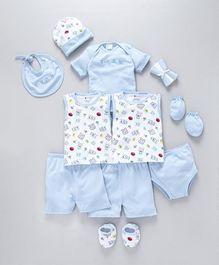 Montaly Clothing Gift Set Blue - 13 Pieces