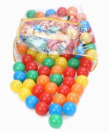 Plastic Play Balls Pack of 100 - Multicolour