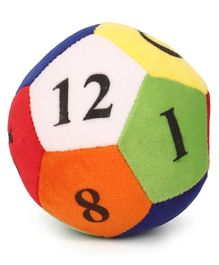 Dimpy Stuff Colourful Soft Ball Numbers- Circumference 36 cm