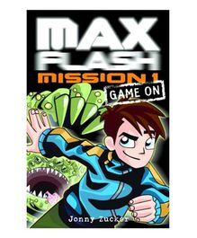 Max Flash Mission 1 Story Book - English